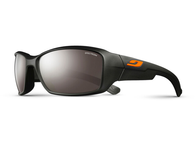 Julbo Whoops Spectron 4 Zonnebril, matt black-brown flash silver